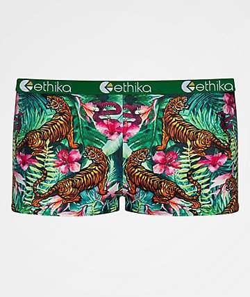 Ethika Tropic Tiger Boyshort Panty
