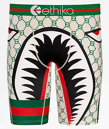 Ethika War Plane First Class Boxer Briefs