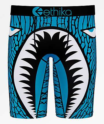 Ethika War Plane Shark Boxer Briefs