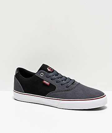 Etnies Blitz Grey & Black Skate Shoes