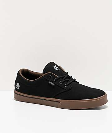 Etnies Jameson 2 Eco Black, Charcoal & Gum Skate Shoes