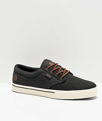 Etnies Jameson Dark Grey, White & Gum Skate Shoes