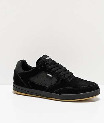 Etnies Veer Black, White & Gum Skate Shoes