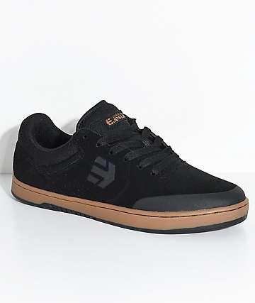 Etnies x Michelin Marana Joslin Black & Gum Skate Shoes