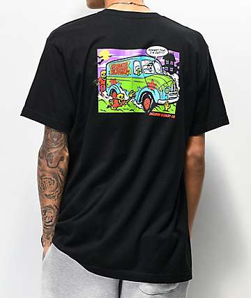 Exclusive Delivery Co. I'm Out Black T-Shirt