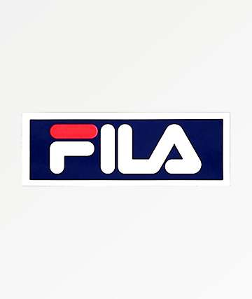 FILA Blue Sticker