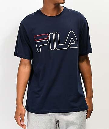 FILA Borough Navy T-Shirt