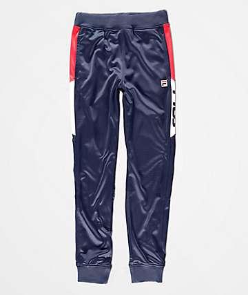 FILA Boys Trent Navy Jogger Sweatpants