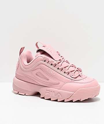 fila originales tennis sneaker rosa