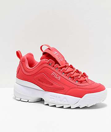 FILA Disruptor II Premium Shift Pink Shoes