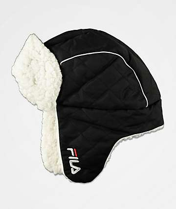 FILA Heritage Black Trapper Hat