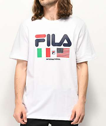 FILA International White T-Shirt