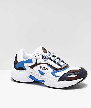 FILA Luminance Blue & Orange Shoes