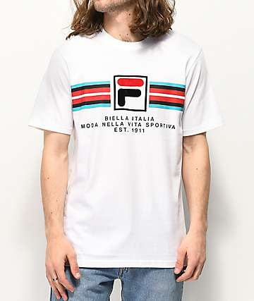 FILA Mercedes White T-Shirt