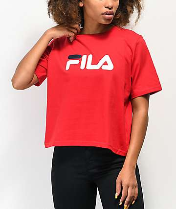 FILA Miss Eagle Red T-Shirt