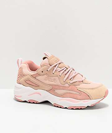 FILA Ray Tracer Pink Shoes