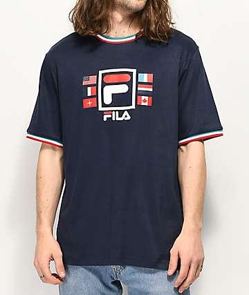 FILA Renato Navy T-Shirt