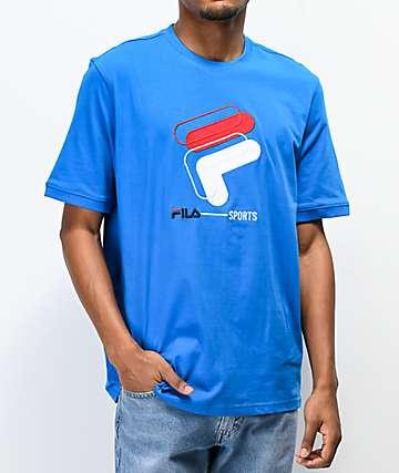 FILA Spiro Blue T-Shirt