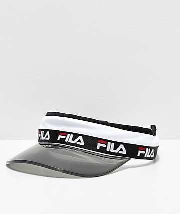 FILA Translucent Plastic Brim Visor