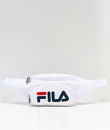 FILA White & Peacoat Fanny Pack