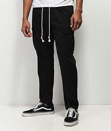 Fairplay Cahill Black Cargo Pants
