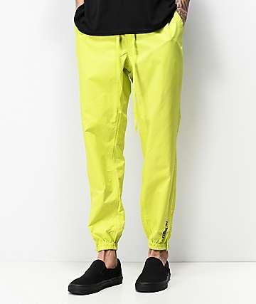 Fairplay Rak Neon Green Track Pants