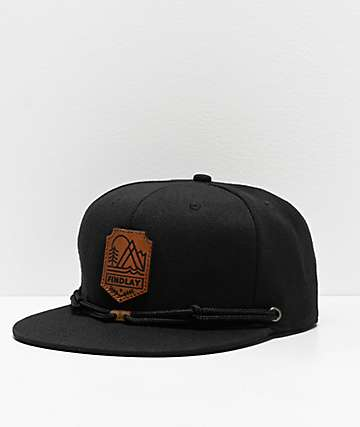 Findlay Crown Force Black & Brown Snapback Hat