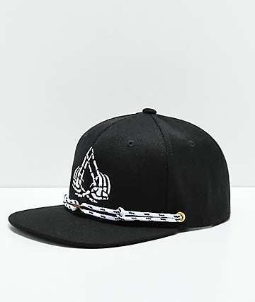Findlay The Exosso Black Snapback Hat