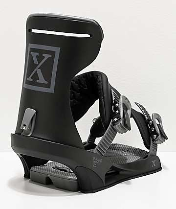 Fix Highlux Black Snowboard Bindings 2020