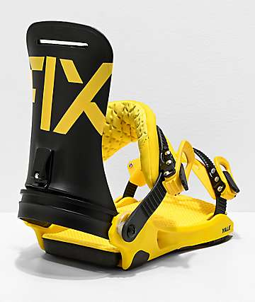 Fix Yale Yellow Snowboard Bindings 2020