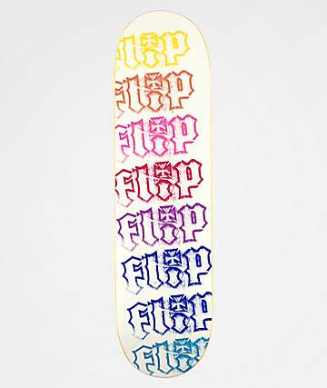 "Flip HKD Spectrum White 8.4"" Skateboard Deck"