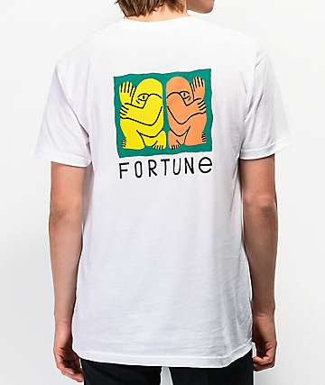 Fortune Back To Back White T-Shirt