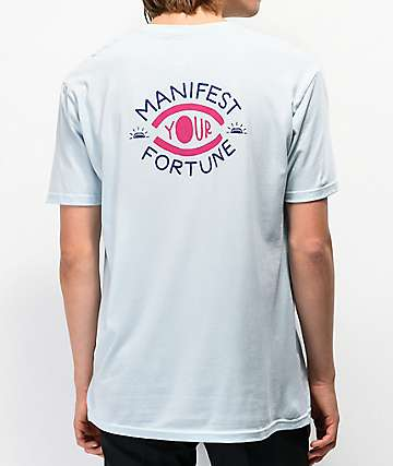 Fortune Manifest Light Blue T-Shirt