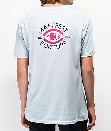 Fortune Manifest camiseta azul claro