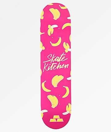 "Fortune x Skate Kitchen Banana Pink 7.5"" tabla de skate"