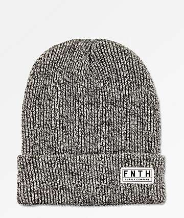 Forty Ninth Supply Co. The Garrison Heather Charcoal Beanie