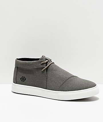 Forwin V3RSA Grey & White Shoes