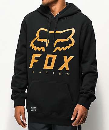 Fox Heritage Forger sudadera con capucha negra