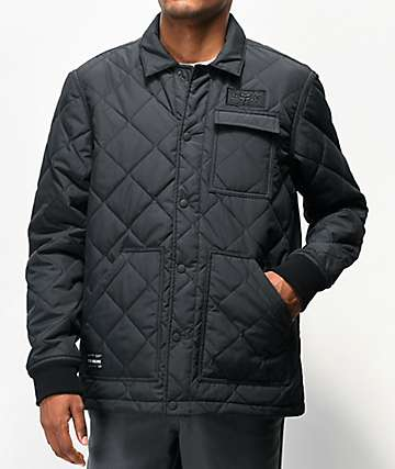 Fox Speedway chaqueta negra de utilidad