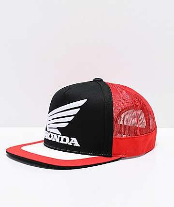 Fox x Honda Black, Red & White Trucker Hat