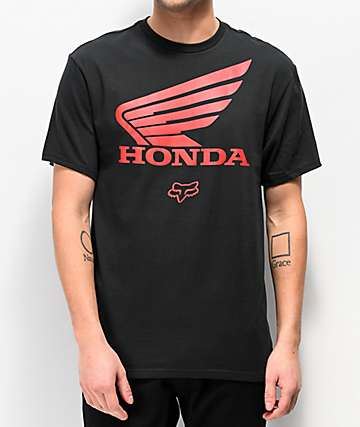 Fox x Honda Black T-Shirt