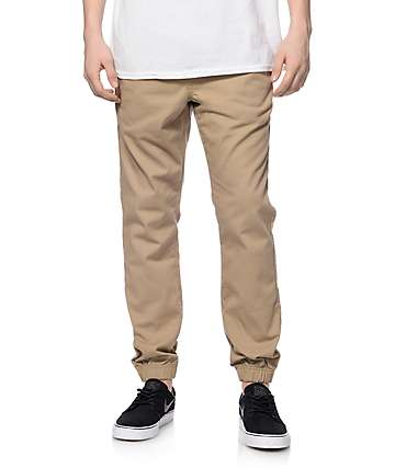 Free World Remy joggers caquis