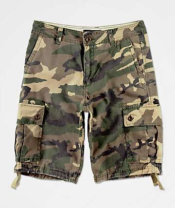 Free World Wreckage shorts de camuflaje