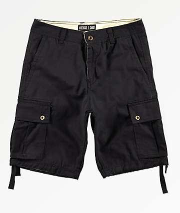 Free World Wreckage shorts negros
