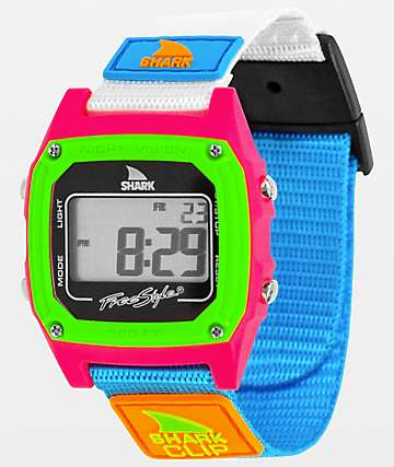 Freestyle Shark Classic Clip Black Neon Digital Watch