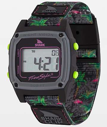 Freestyle Shark Classic Clip Dark Flamingo Digital Watch