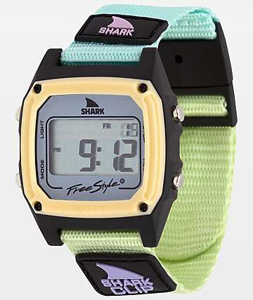 Freestyle Shark Classic Clip Green Tea Digital Watch