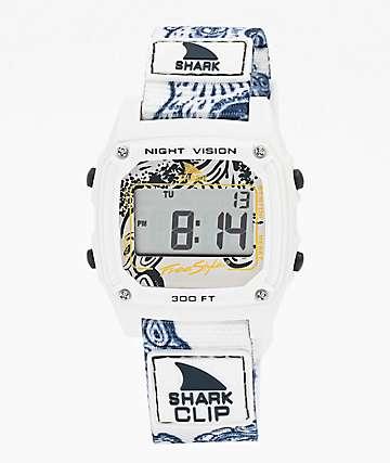 Freestyle Shark Classic Clip Octopus reloj digital blanco