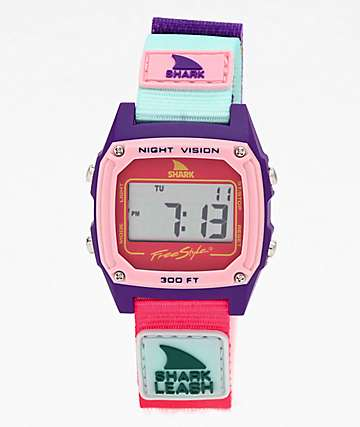 Freestyle Shark Classic Leash Guava Lava reloj digital