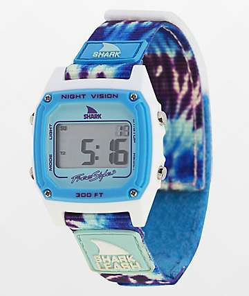 Freestyle Shark Classic Leash Tie Dye Digital Watch